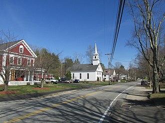Brookline, New Hampshire - Main Street in Brookline