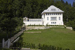 building by Le Corbusier in La Chaux-de-Fonds, Switzerland