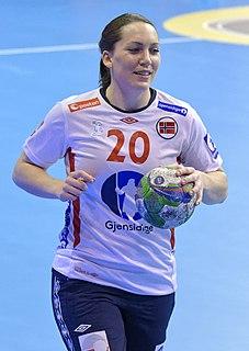 Maja Jakobsen Norwegian handball player