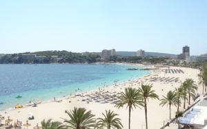 English: Mallorca, Magaluf, beach