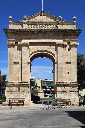 Emmanuel de Rohan-Polduc - De Rohan Arch in Żebbuġ