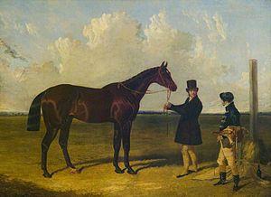 Mango (horse) - Mango', Winner of the St Leger, 1837 by John Frederick Herring