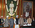 Manmohan Singh, the Union Minister for Civil Aviation, Shri Ajit Singh, the Minister of State for Parliamentary Affairs & Planning.jpg