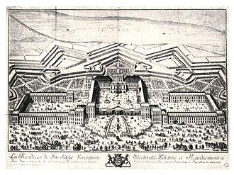 Franz Ignaz Beck - Mannheim Palace (ca. 1725)