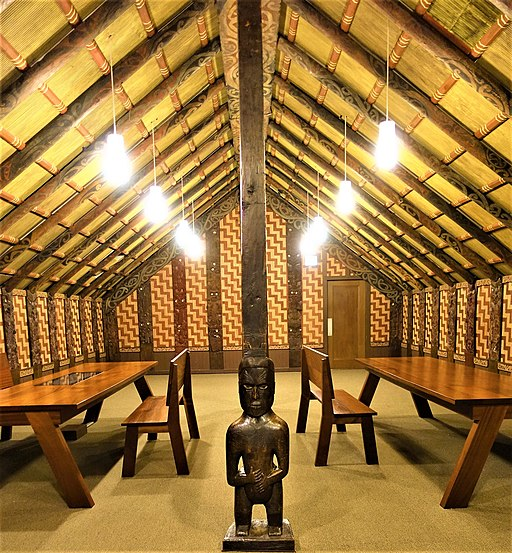 Maori Meeting House, Ruatepupuke II - Field Museum of Natural History - by Joy of Museums - 1