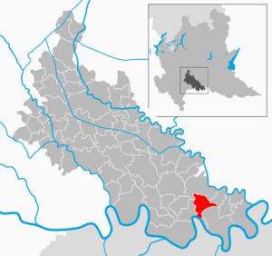 Corno Giovine - Image: Map IT Lodi Corno Giovine