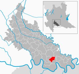 San Fiorano - Image: Map IT Lodi San Fiorano