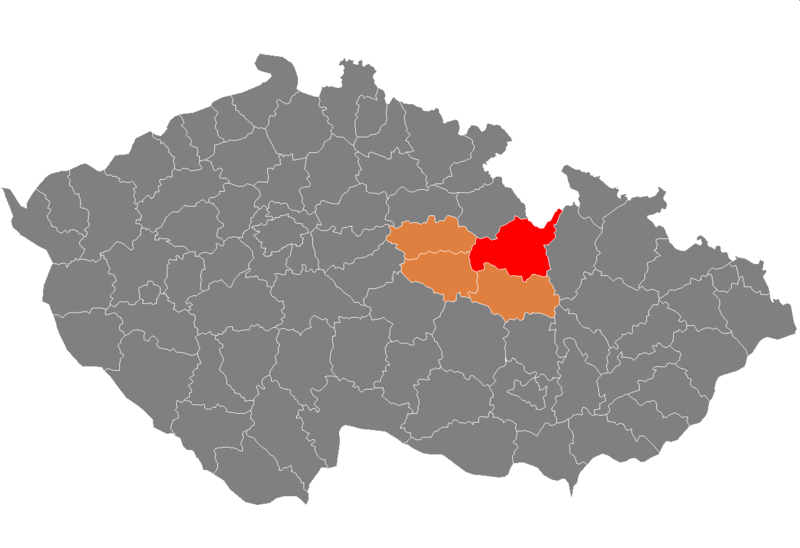 Ficheiro:Map CZ - district Usti nad Orlici.PNG