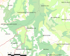 Map commune FR insee code 26048.png