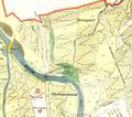 Map of Džungľa in 1912.png