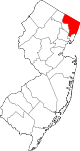 Bergen County in New Jersey