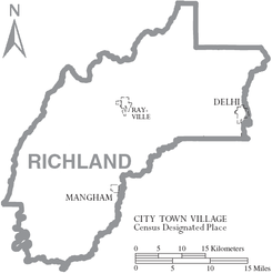 Map of Richland Parish Louisiana With Municipal Labels.PNG