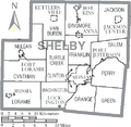 Map of Shelby County Ohio With Municipal and Township Labels.PNG