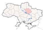 Oblast di Poltava - Mappa di localizzazione