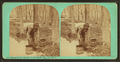 Maple sugar making. Gathering the sap, (old style), by Vermont Stereoscopic Company.png