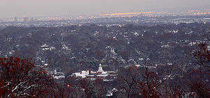 Maplewood, New Jersey - View of Maplewood from South Mountain Reservation