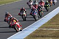 Marc Márquez leads the pack 2013 Motegi.jpeg