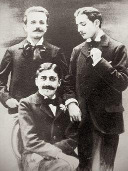 Marcel Proust et Lucien Daudet