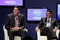 Marcelo Claure, Aloke Lohia in CNBC-supply chains - World Economic Forum on East Asia 2012.jpg