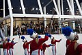 Marching band performs at 57th Presidential Inauguration Review Stand 130121-Z-QU230-258.jpg