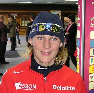 Marieke Wijsman Dutch speed skater