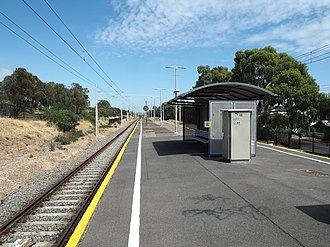 Marino railway station, Adelaide - Image: Marino Railway Station