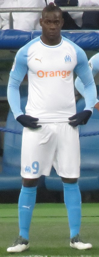 Mario Balotelli - Balotelli playing for Marseille in 2019.