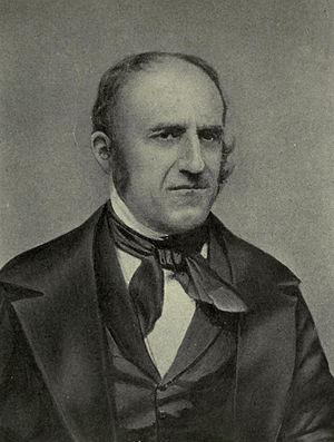 Mark Hopkins (educator) - Mark Hopkins from a daguerreotype c. 1840s