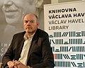 Mark Thompson, Václav Havel Library, Prague (2019).jpg