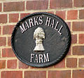 Markshall Farm - farm sign - geograph.org.uk - 1541736.jpg