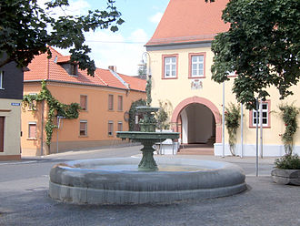 Schwabenheim an der Selz - Town square
