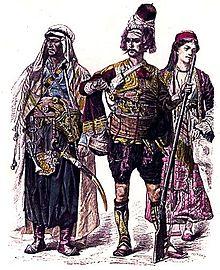 Cristiani libanesi nel 1880