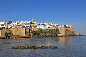Kasbah of the Udayas - River Bou Regreg and the Kasbah