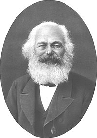 Karl Marx (1818-1883) published a critique of classical economics based on his reinterpretation of the labor theory of value. Marx old.jpg