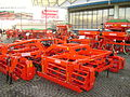 Maschio Gaspardo spring-tooth harrows at IndAgra Farm Romexpo 2010.JPG