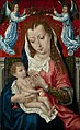 Master of the St Ursula Legend - Virgin and Child with Two Angels.jpg