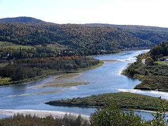 Matapedia Valley - Image: Matapédia, Entre Monts et Rivières
