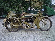 Matchless Type H 1000 cc uit 1919
