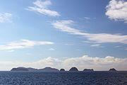 家島諸島の桂島、松島、小ツフラ島、大ツフラ島、長島、三ツ頭島