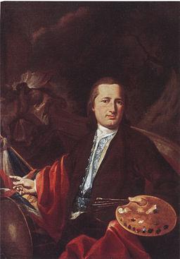 Matthäus Günther Selbstbildnis