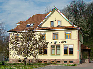 Mauer (Baden) - Town hall