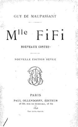 Image illustrative de l'article Mademoiselle Fifi (recueil)