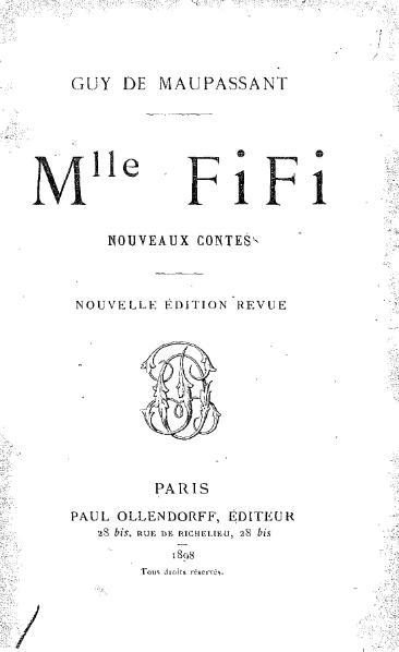 File:Maupassant - Mademoiselle Fifi.djvu