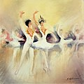 Maurice Fillonneau Danse cygne.jpg