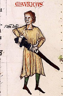 Maurice FitzGerald, 2nd Lord of Offaly Norman-Irish peer, soldier, and Justiciar of Ireland