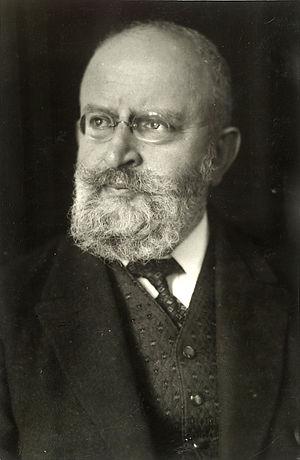 Max Fenichel - Portrait of Rabbi Max Grunwald by Max Fenichel, n.d.