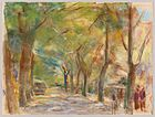 Max Liebermann, Colomierstrasse in Wannsee, 1922
