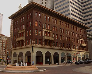 McFarlin Building - McFarlin Building, 11 E. 5th St., built 1918. Listed on National Register of Historic Places