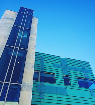American University School of Communication - This is an outside view of the newest addition to the McKinley Building