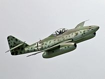 Me 262 flight show at ILA 2006 (cropped).jpg